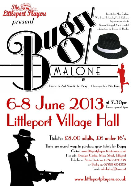 Bugsy Malone Poster Bugsy Poster Click on The